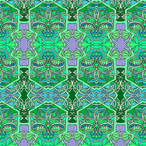 Garden Patch fabric by edsel2084 on Spoonflower - custom fabric