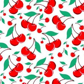 Cherry - White