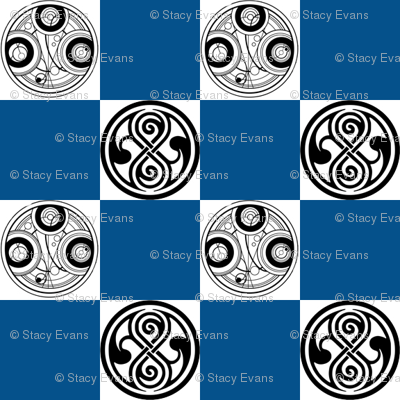 Seal of Rassilon   Blue Checks