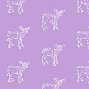Dear Deer Violet