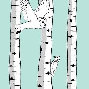 Birds in Birch