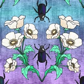 Black  Beetle + Poppy