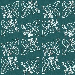 batik-2sprig-2x4in-WHITE-on-dkgrnblpattern300_copy