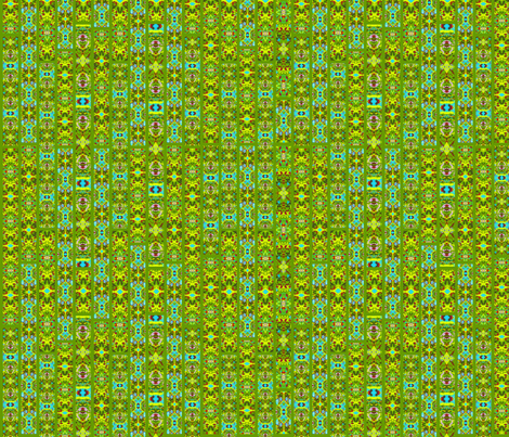 Stained Glass Jungle Green fabric by bags29 on Spoonflower - custom fabric