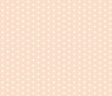 "Small Scale 1/2"" Blush Plus fabric by littlearrowdesign on Spoonflower - custom fabric"