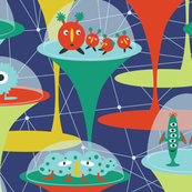 Alien Incubators - navy