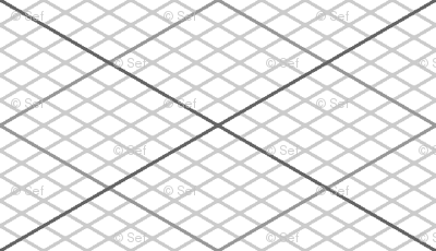 isometric graph : grey