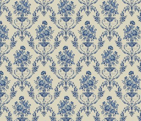 Empire Navy Blue fabric by chantal_pare on Spoonflower - custom fabric