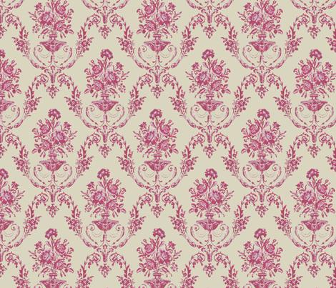 Empire Fuschia fabric by chantal_pare on Spoonflower - custom fabric