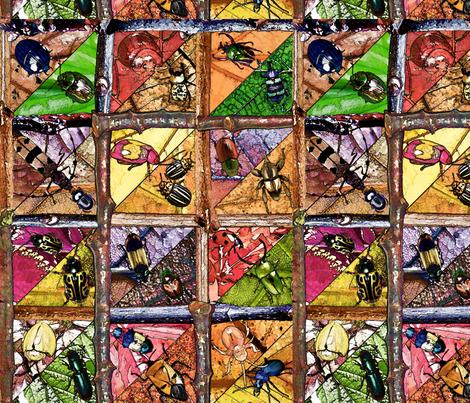 My_Leaf_is_Your_Leaf fabric by lulutigs on Spoonflower - custom fabric