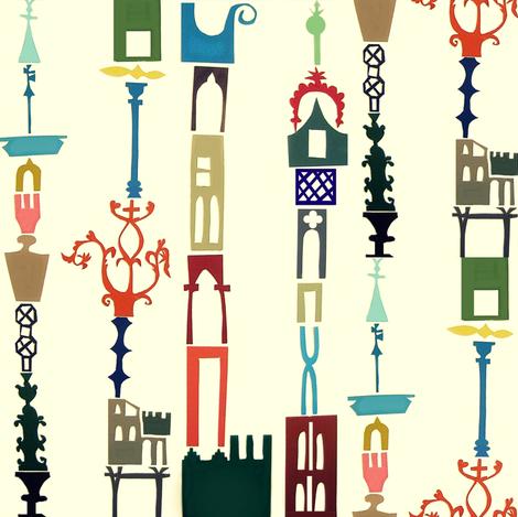 Prague Stripes fabric by boris_thumbkin on Spoonflower - custom fabric