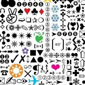 Zapf Dingbats (zoom it!)