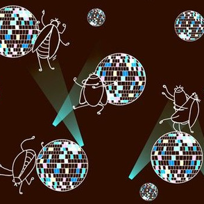 Disco dung beetle dance party