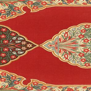 Ottoman tent wall