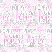 Personalised Name Design - Pinks and Grey