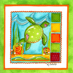 Sea Turtle (No Letters)