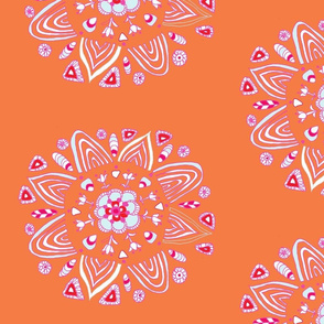 Floral Circular Folk