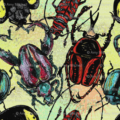 Tossed Beetles