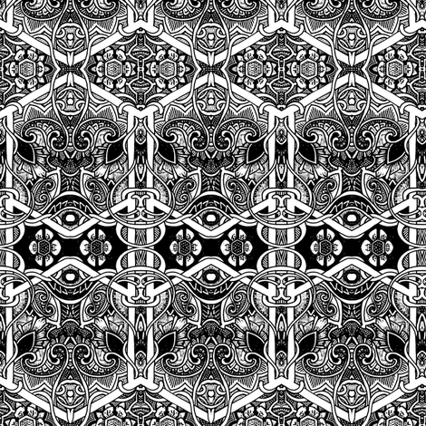 When the Paisley Bloom fabric by edsel2084 on Spoonflower - custom fabric