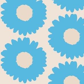 Daisy-blue and big