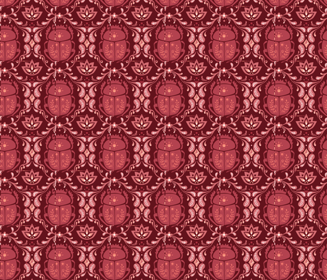 skarabaus1 fabric by jodysart on Spoonflower - custom fabric