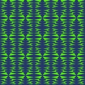 Sentries Green Navy Blue