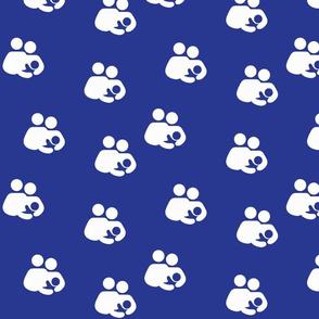 Breastfeeding Support on Blue
