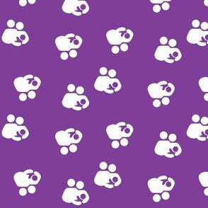 Breastfeeding Support Purple Flip