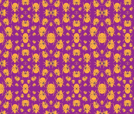 Beetle Pop fabric by ashlyinwonderland on Spoonflower - custom fabric