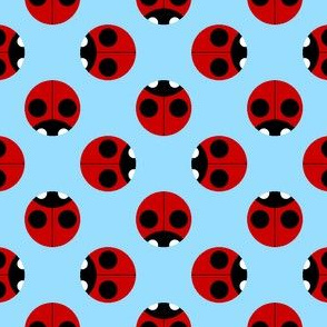 2-spot ladybird polkadot