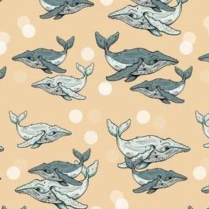 Whale Plus Dots