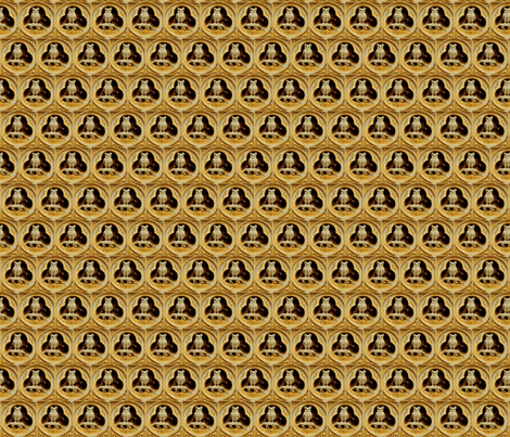 Athenian Honeycomb fabric by amyvail on Spoonflower - custom fabric