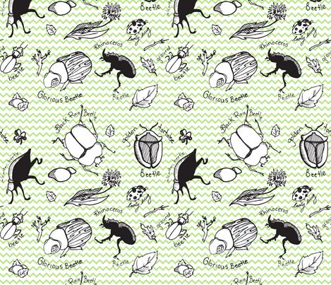 Beetle Bugs fabric by samantha_maclean on Spoonflower - custom fabric