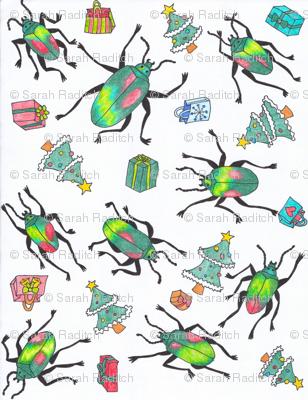 Christmas_beetles_pattern-ed