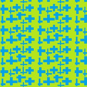 spoonflower_blue_green_cross