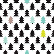 Lovely little scandinavian christmas trees XL