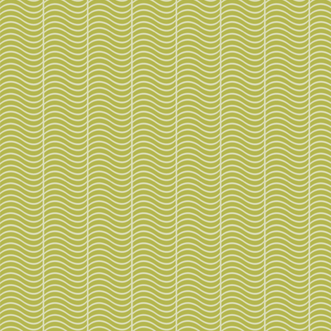 toadstool wave green fabric by cjldesigns on Spoonflower - custom fabric