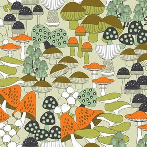toadstool crowd