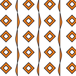 Orange Diamonds1