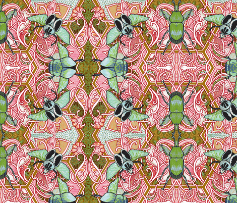Ugg, Bugs fabric by edsel2084 on Spoonflower - custom fabric