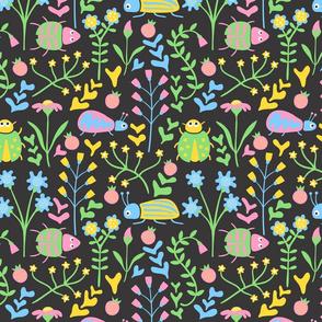 Garden beetles
