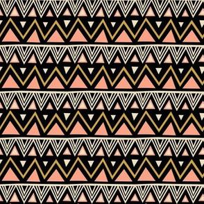 Tribal - Black Peach