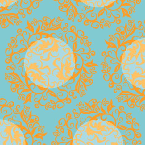 Fusion Stencil fabric by elizabethhalpern on Spoonflower - custom fabric