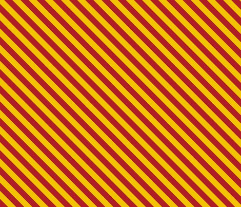 Magic School Inspired Diagonal Gryffin Lion  Stripes - Small fabric by designedbygeeks on Spoonflower - custom fabric