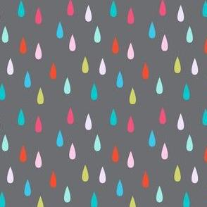 rain on grey