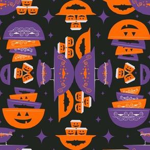 Halloween Pyrex