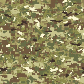 Multi Terrain Hybrid Camouflage