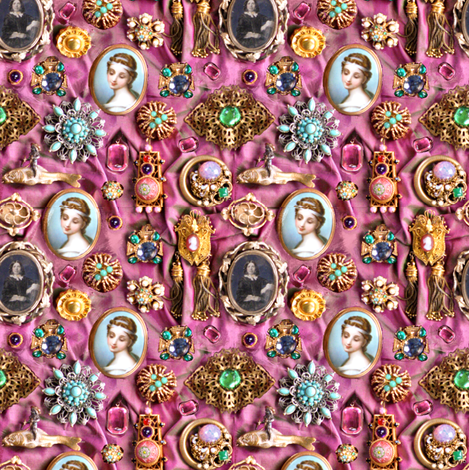 All That Glitters fabric by greenedevine on Spoonflower - custom fabric