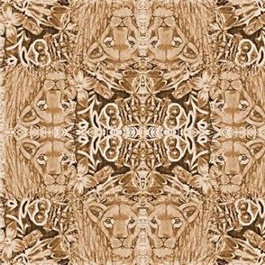 Sepia Lioness