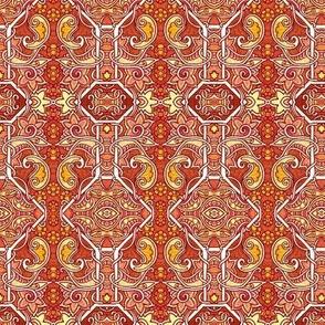 Paisley Fire (orange)